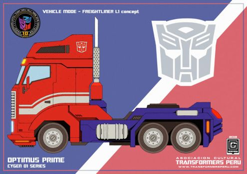 OPTIMUS PRIME CYGEN1 by GERCROW