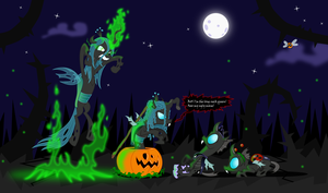 Too late for Halloween? I hope not by zimvader42