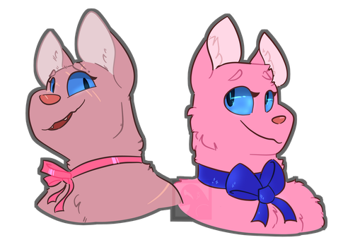 Pink Cats by BirdOfPraise