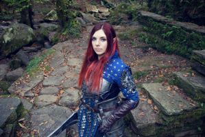 Grey Warden Cosplay by Anhyra