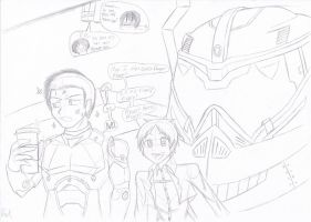 Attack on Titan: Bugging the Jaeger Pilot by dr-kaiser