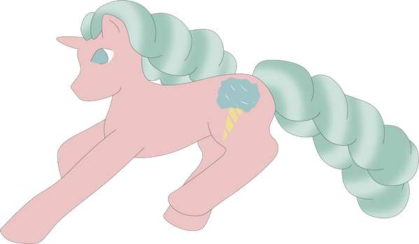 100 Ponies - Cotton Candy by CassidyPeterson