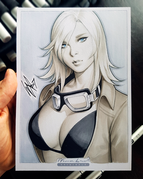 Eva MGS3 by WarrenLouw