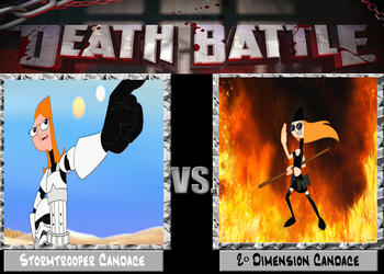 DEATH BATTLE: Candace VS Candace by diebitch2947