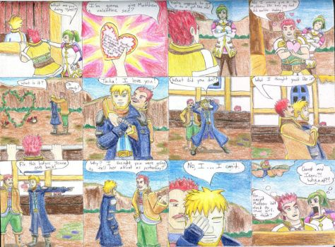 A Golden Sun Story: Valentine's Day by GamingArtSeer