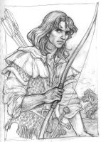 Robin of Sherwood by suburbanbeatnik
