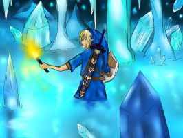 Ice Cavern  by Fantasylover64