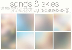 Sands and Skies 100x100 by treasuresex