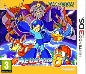 Megaman 6 3DS boxart by DBurch01