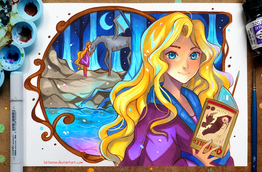+Luna Lovegood+ by larienne