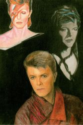 Bowie Collage by DotPerspectives
