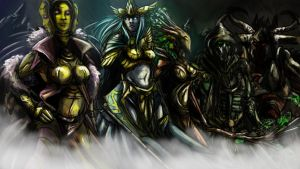 Guild Wars Lore : The Five True Gods by Gannadene