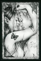 Lost In You by ThePix by PortraitPencilArt