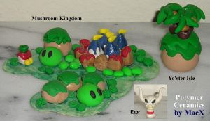 Ceramic Mario RPG Islands by HeyLookASign
