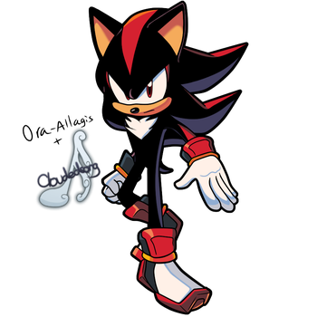 [Collab] Sonic Kingdom - Shadow the Hedgehog by Cloudedsong