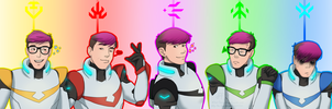 Sanders Sides in a Voltron AU by Ally-the-Fox-20