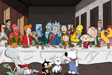 Last Supper Remastered by darlinginc