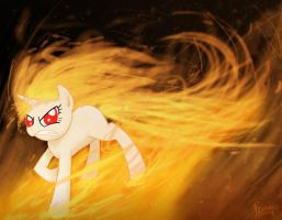 Fire Twilight is on fire by piconano