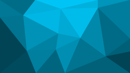 Low Poly Blue Wallpaper by ScreamingTaco