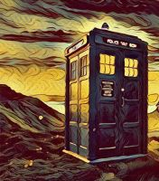 The Tardis by Calypso1977