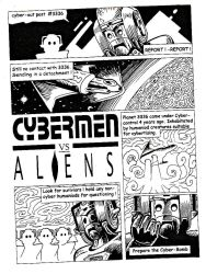 Cybermen vs Aliens by Snake-Artist