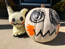 Mimikyu Pumpkin by Soraply11