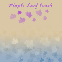 Maple Leaf Brush by petra-gergely