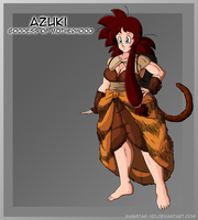 Saiyan Goddess of Motherhood | Azuki by Rainstar-123