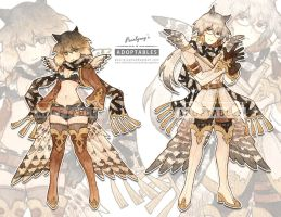 Adoptable 10 owls [CLOSED] by Pearlgraygallery