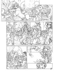 Songes Tome 2 Page 29 Lineart by TerryDodson