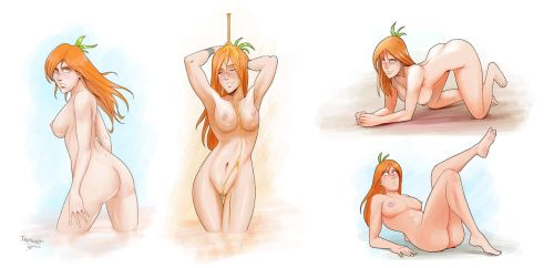 Various poses 1 by Trebuxet