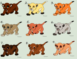 TLK Cubs Name your Price (Closed) by Sukida-Adopts