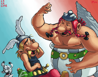 Asterix et Obelix by Nighteba