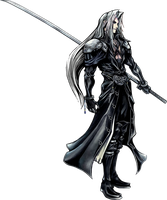 Final Fantasy Crisis Core - Sephiroth by XDragoonLadyX