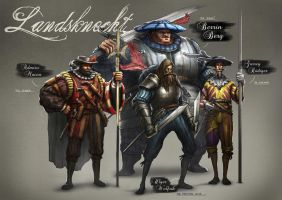 Landsknecht Concepts by yongs