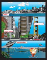 Illustrated Comic Page by Crutchfield-Creative