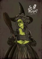 Wicked Witch by Hell-Strawberry