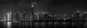 Panorama Shanghai Night by GregoriusSuhartoyo