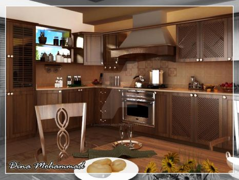 Kitchen. by dinamohammad