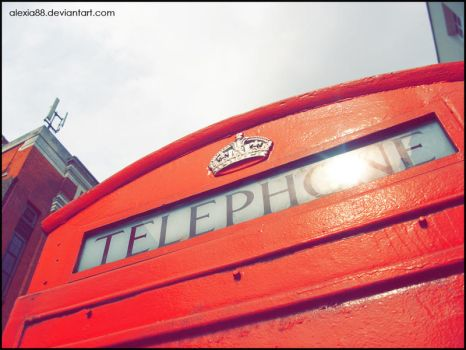 Red Telephone by Alexia88