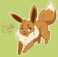 eevee sticker #1 by Zivara