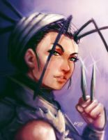 Ibuki painting by Mark-Clark-II