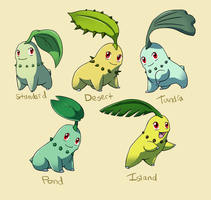 Pokemon Subspecies: Chikorita
