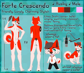 Forte Crescendo - Official Reference Sheet by LeScarletSinger