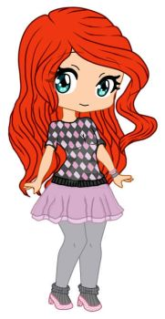 Winx Chibi Blooms WOW Causal Style by BibiWinxClub