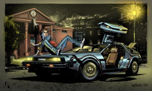 Back to the future entry by Javilaparra