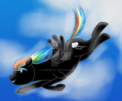 How I Draw Ponies: Mystery Dash (OC request) by horse14t