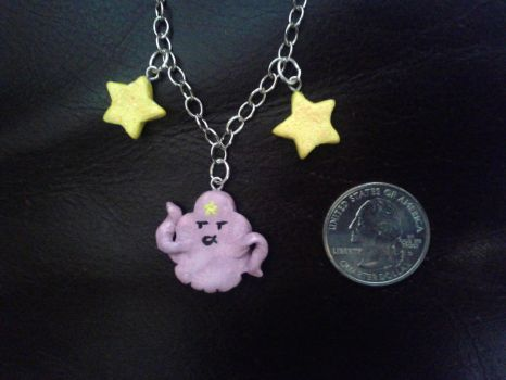 Lumpy Space Necklace by GlompMonster