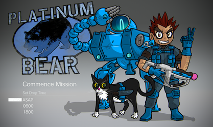 METAL GEAR SOLID V: PLATINUM BEAR UNIT by luckettx