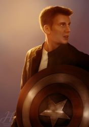 Steve Rogers by Arkarti